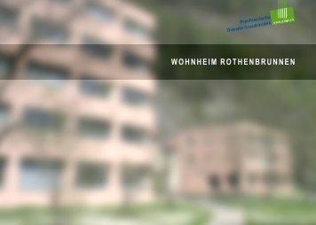Wohnheim Rothenbrunnen