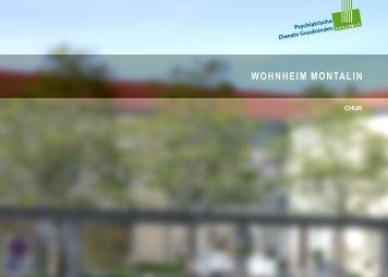 Wohnheim Montalin Chur