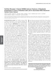 Toll-like Receptor 4 Variant D299G Induces Features of Neoplastic ...