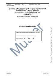 Musterfragebogen - Universitätsklinikum Essen