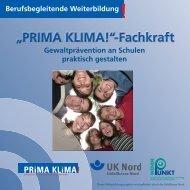 Weiterbildung PRIMA KLIMA! Fachkraft - Unfallkasse Nord