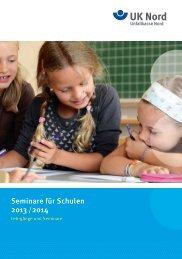 Seminare für Schulen 2013 /2014 - Unfallkasse Nord