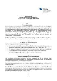 Vereinbarung über die gegenseitige ... - Unfallkasse Nord