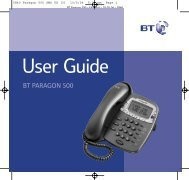 BT Paragon 500 - Cordless phones