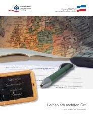 Lernen am anderen Ort - Schleswig-Holstein