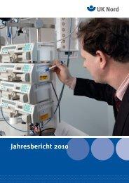 Jahresbericht 2010 ericht 2010 - Unfallkasse Nord