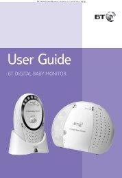BT Digital Baby Monitor - UK Surplus
