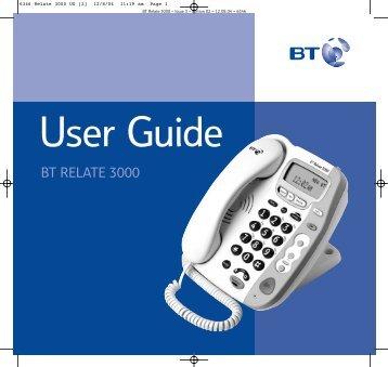 BT Relate 3000 - UK Surplus