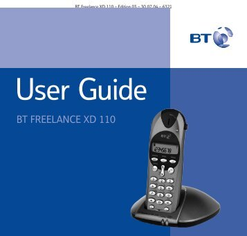 BT Freelance XD110 - UK Surplus