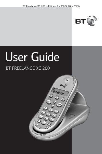 BT Freelance XC 200 - UK Surplus