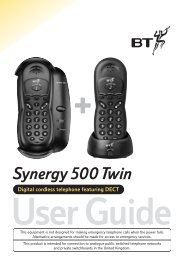 Synergy 500 Twin user guide - UK Surplus