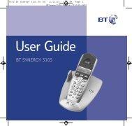 BT Synergy 3105 - Cordless Phones