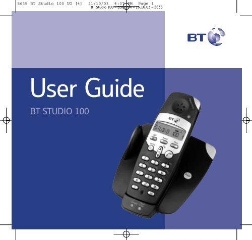 BT Studio 100 - UkCordless