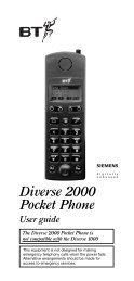 Diverse 2000 Pocket Phone - UK Surplus