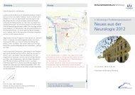 Neues aus der Neurologie 2012 - Universitätsklinikum Würzburg