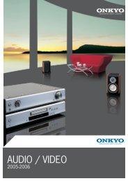 AUDIO / VIDEO - Onkyo