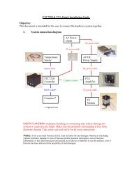 FTC7220 & FTA Quick Installation Guide Objective: This ... - Ferrotec