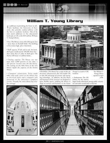 William T. Young Library - University of Kentucky Athletics