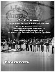 167 tradition BREAK.qxd - University of Kentucky Athletics