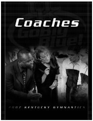 Head Coach - Kentucky Wildcats Official Athletic Site... - University of ...
