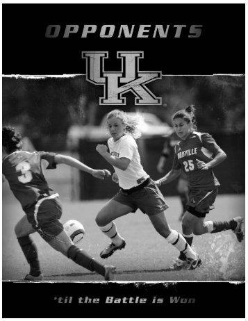 2007 Opponents ALABAMA - University of Kentucky Athletics