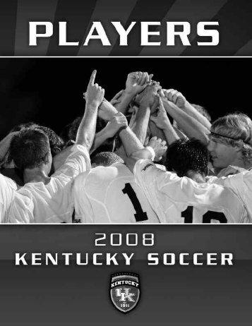 4-Pruitt biodone.qxd - University of Kentucky Athletics