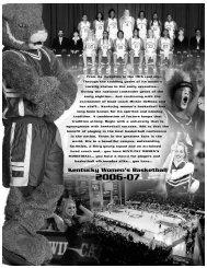 Kentucky Women's Basketball - University of Kentucky Athletics