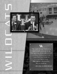 excellence - University of Kentucky Athletics