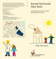Ronald McDonald Haus Basel - UKBB