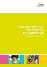 Imagebroschüre - UKBB