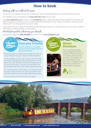 How to book - UK Boat Hire