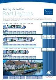 Boat Layouts - UK Boat Hire
