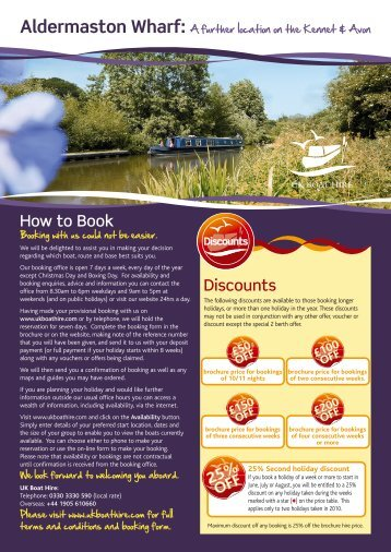Header for PDF Proof - UK Boat Hire