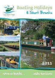 Boating Holidays - UK Boat Hire