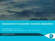 Introduction to Australia's National Assessment - ukcip