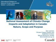 Canada's National Assessment - ukcip