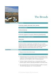 The Broads Authority case study - ukcip