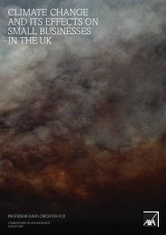 climate change and its effects on small businesses in the uk - ukcip