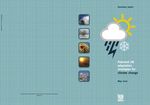 costs of climate change adaptation - ukcip