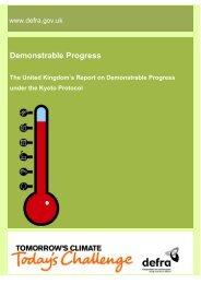 Demonstrable Progress - United Nations Framework Convention on ...