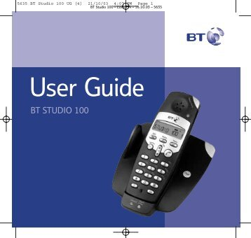 BT Studio 100 - UkCordless
