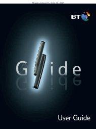 BT Glide User Guide - UkCordless