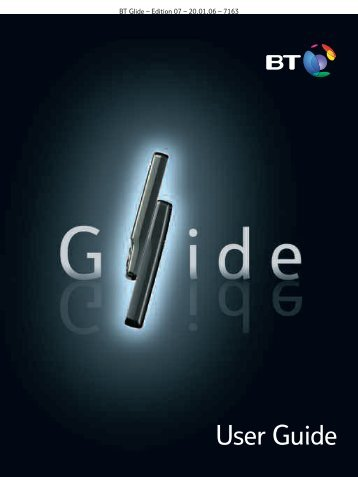 BT Glide User Guide - UkCordless