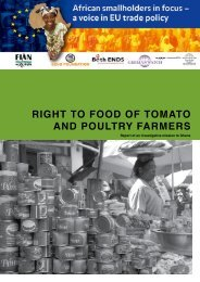 right to food of tomato and poultry farmers - UK Food Group