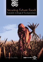 UKFG Briefing - Securing Future Food - UK Food Group