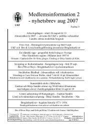 2007:2 - Upplands-Bro Kulturhistoriska Forskningsinstitut