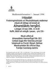 Inbjudan Almarestäkets herrgård. - Upplands-Bro Kulturhistoriska ...