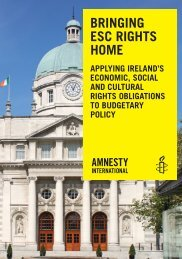 Bringing ESC Rights Home - Applying Ireland's Economic, Social and Cultural Obligations to Budgetary Policy - web version