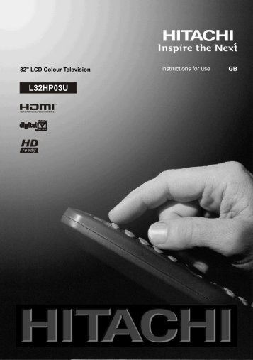 Hitachi L32HP03U