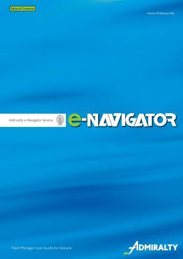 e-Navigator-Fleet-Manager-Vessel-User-Guide-v2 - United Kingdom ...
